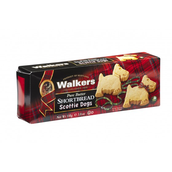 Shortbread Scottie dogs 110 g
