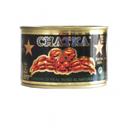 Cangrejo real ruso 100% patas 185 g