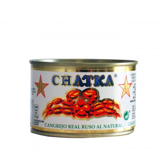 Cangrejo real ruso 60% patas y carne desmigada 185 g