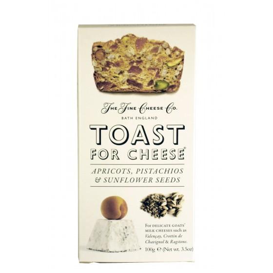 Tostadas con albaricoque, pistachos y semillas de girasol 100 g