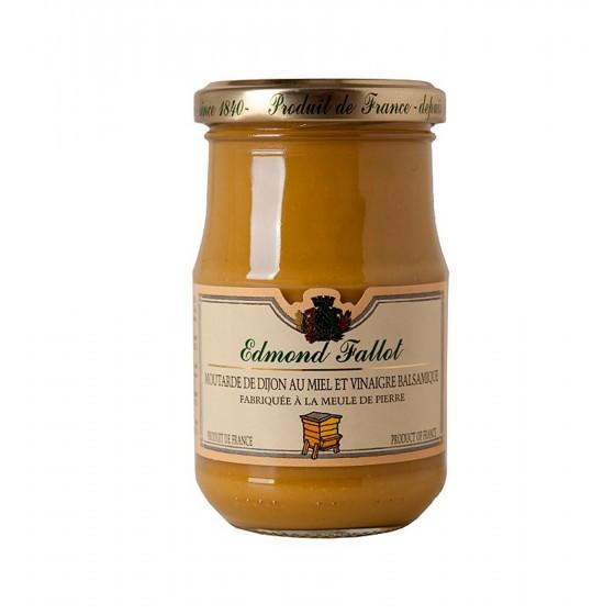 Mostaza de Dijon con miel y vinagre balsámico 210 g