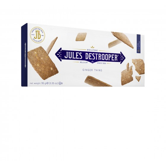Biscuits con pequeños trozos de jengibre  95 g