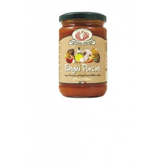 Salsa de tomate y setas 270 g