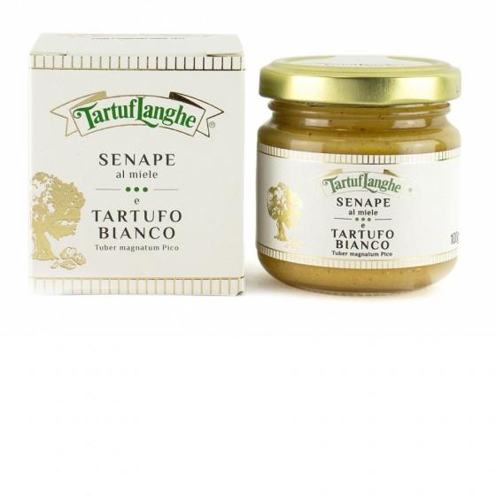 Mostaza con miel y trufa blanca 100 g