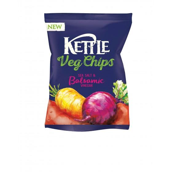 Chips vegetales con sal y vinagre balsámico 100 g