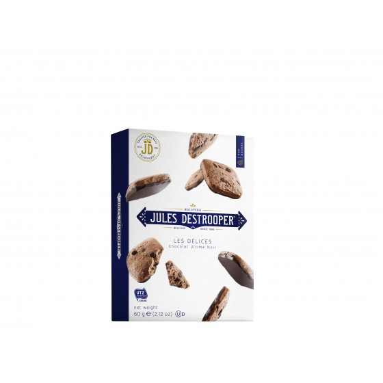 Les Délices | Biscuits de chocolate con chips de chocolate negro 60 g