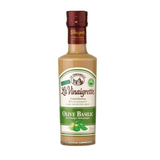 Vinagreta de aceite de oliva y albahaca 25 cl