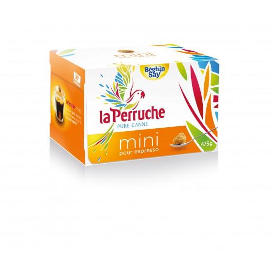 La Perruche. Mini Terrones irregulares de azúcar moreno 475 g