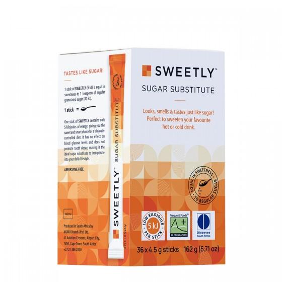 Sweetly - Edulcorante no nutritivo 162 g