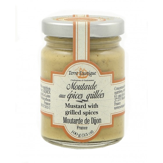 Mostaza de Dijón con especias 100 g