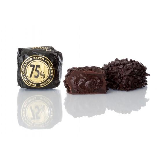 Chocaviar de chocolate extra fondente 75% Cacao 5 kg