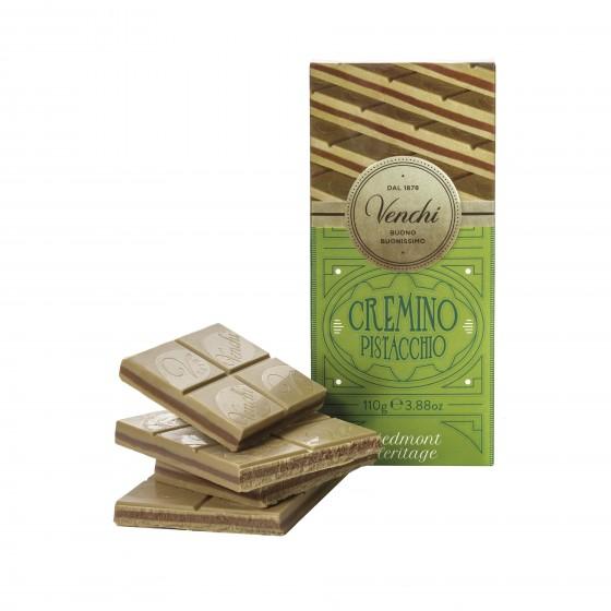 Tableta Cremino pistacho 110 g