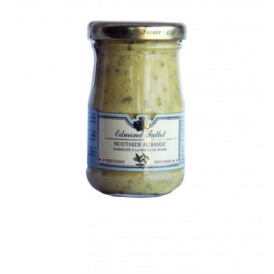 Mostaza de Dijon a la albahaca  105 g