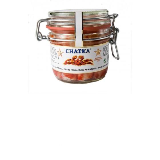 Cangrejo real ruso 60% patas y carne desmigada 310 g