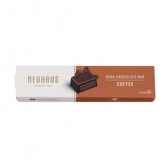 Barrita de chocolate negro (52% cacao) relleno de ganache de café 55 g