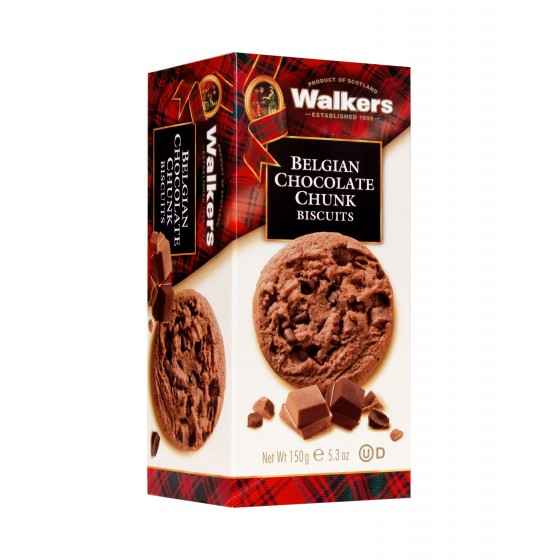 Cookies con chips de chocolate belga 150 g