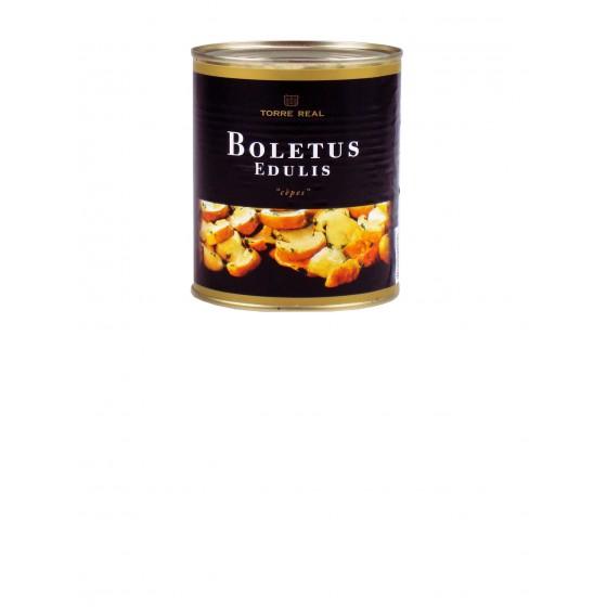 Boletus Edulis laminados en aceite de girasol 800 g