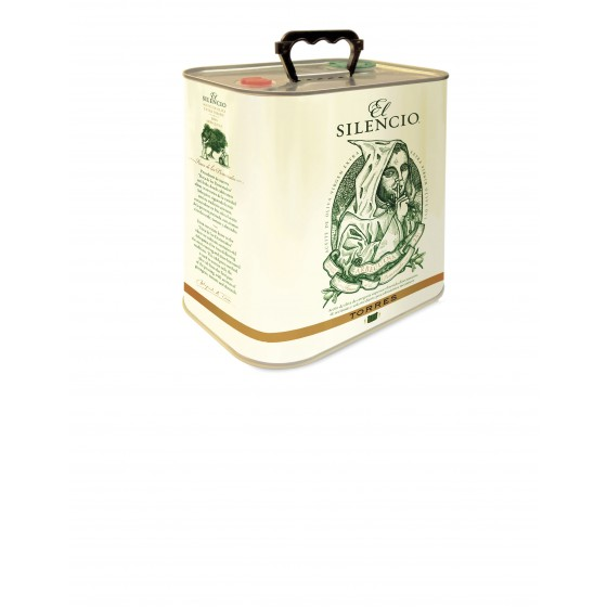 El Silencio | Aceite de Oliva  Virgen Extra 100% Arbequina  2,5 l