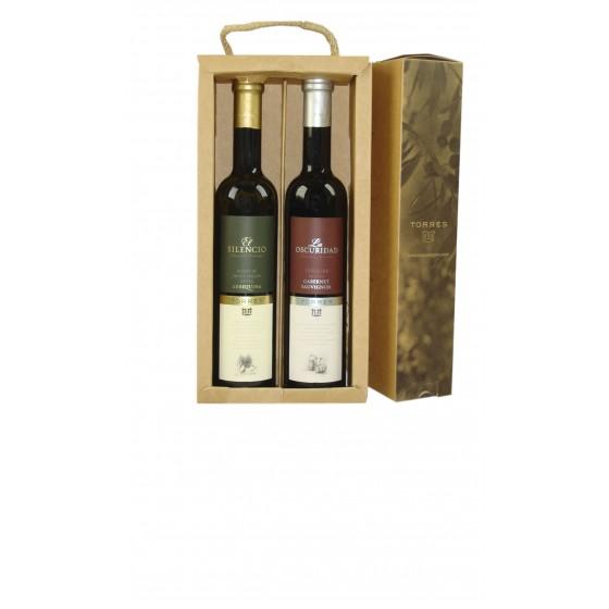 Pack Aceite Arbequina y Picual | 2 btll de 50 cl