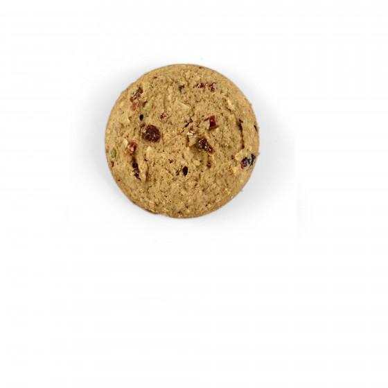 American cookies con  arándanos, dátiles, semillas de calabaza, pasas y avellanas 60 g