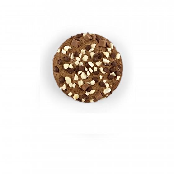 American cookies de chocolate belga y arándanos y chips de merengue y chocolate 60 g