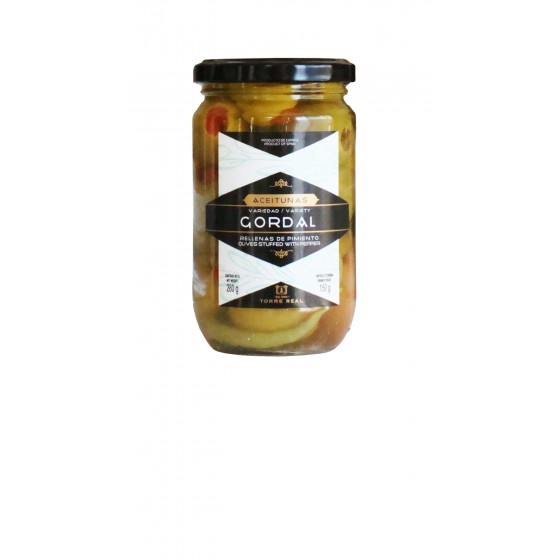 Aceituna Gordal rellena de pimiento 280 g