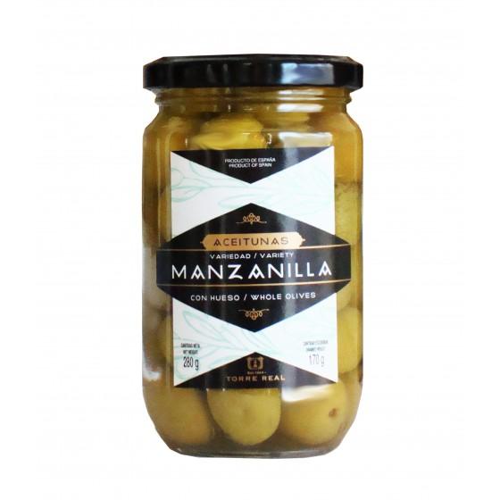 Aceituna Manzanilla con hueso 280 g