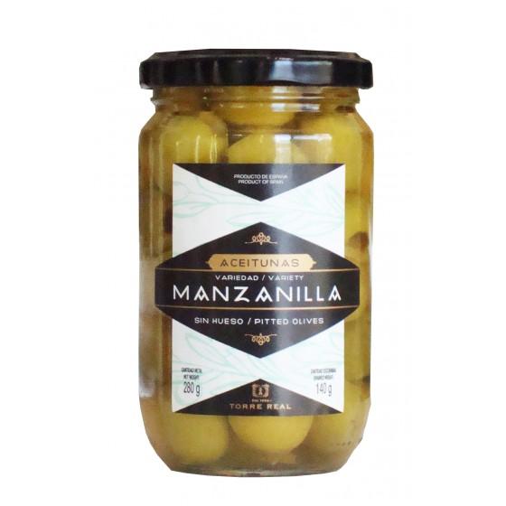 Aceitunas Manzanilla sin hueso 280 g