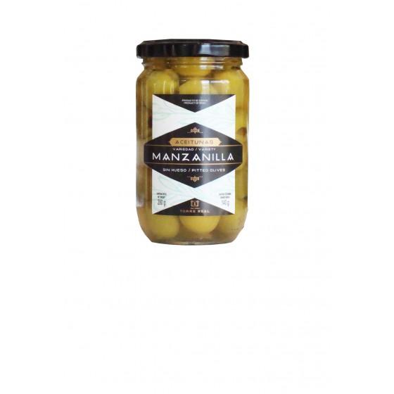 Aceituna Manzanilla sin hueso 280 g