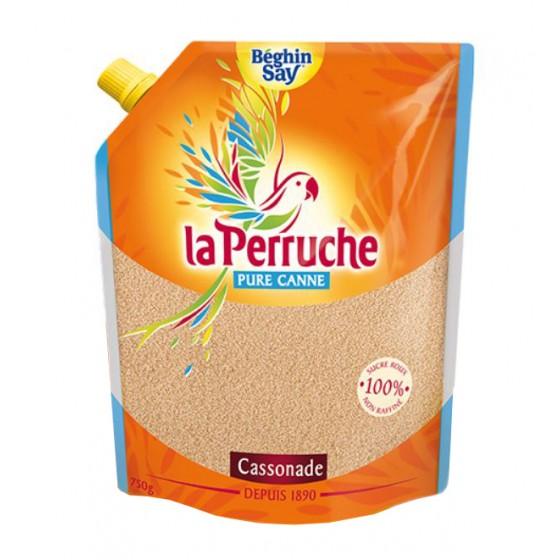 La Perruche. Cassonade. Azúcar moreno de caña en polvo  750 g