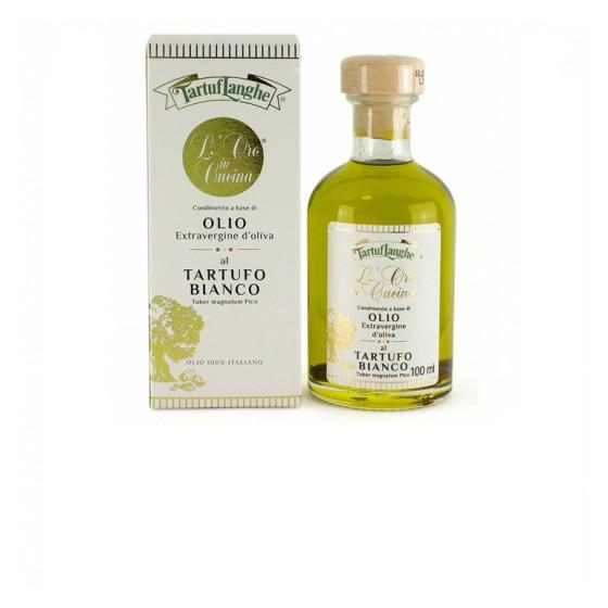 Aceite de Oliva Virgen Extra con trufa blanca 10 cl