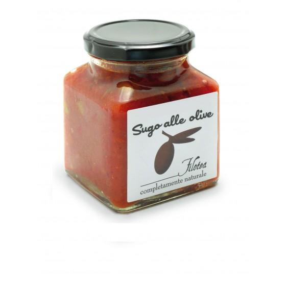 Salsa de aceitunas 280 g
