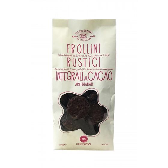 Galletas integrales de mantequilla y cacao 300 g