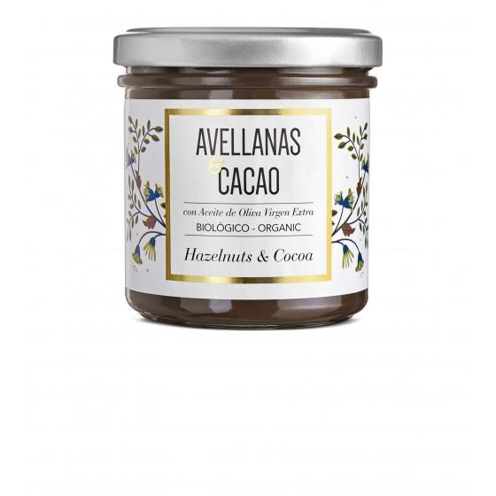 Crema de cacao y avellanas BIO 150 g