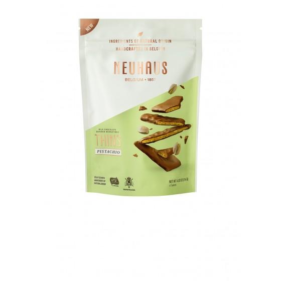 Biscuits de Nougatine de pistachos bañados con chocolate con leche 114 g