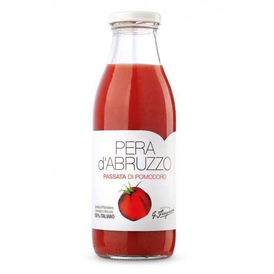 Pure de tomate natural triturado de variedad pera d'Abruzzo 500 g