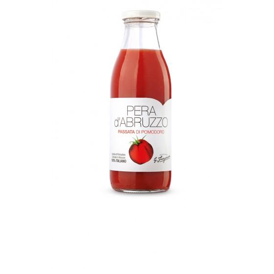 Pure de tomate natural triturado de variedad pera d'Abruzzo 250 g