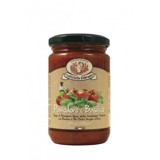 Salsa de tomate y albahaca 270 g