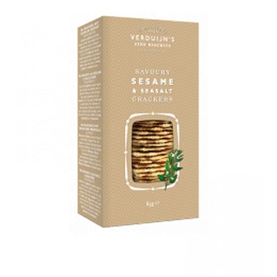 Crackers con sésamo y sal 85 g