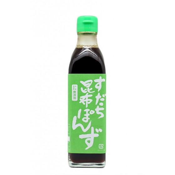 Vinagre Sudachi-Kombu-Ponzu 30 cl