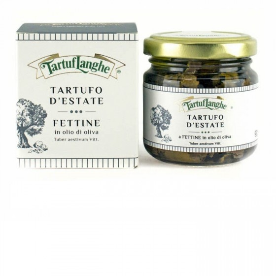 Trufa de Verano laminada en aceite de oliva  90 g