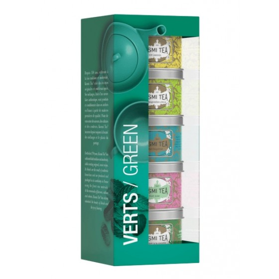 Verts / Green - Set 5x25 g