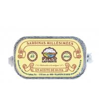 Sardinas Millésimées en aceite de oliva 3/5 pza 125 g