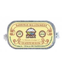 Sardinas Millésimées en aceite de oliva 3/5 pza. 125 g