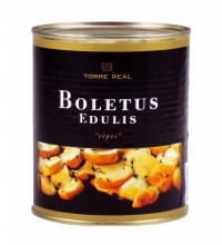Boletus Edulis laminados en aceite de girasol 800 gr