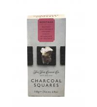 Heritage. Crackers de mantequilla con un 1% de carbón 125 g