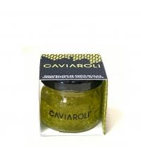 Esferas gelificadas de aceite de oliva Virgen Extra con aroma a trufa blanca 20 g