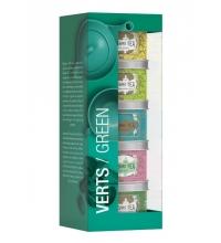 Verts / Green - Set 5x25 g
