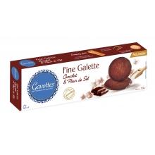 Fine Galette. Galletas finas de chocolate con flor de sal 120 g