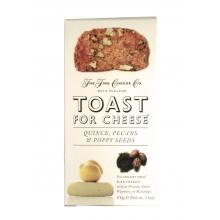 Tostadas con membrillo, nueces pecanas y semillas de amapola 100 g